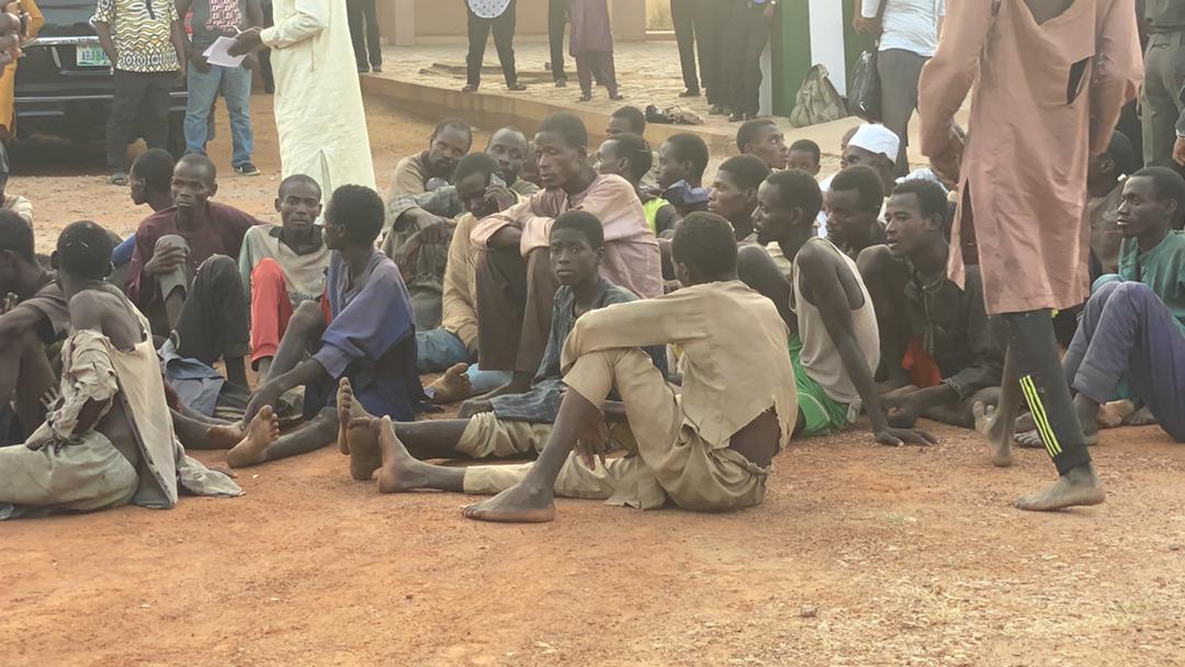 Zamfara Police Hands Over 187 Kidnap Victims To Gov Bello